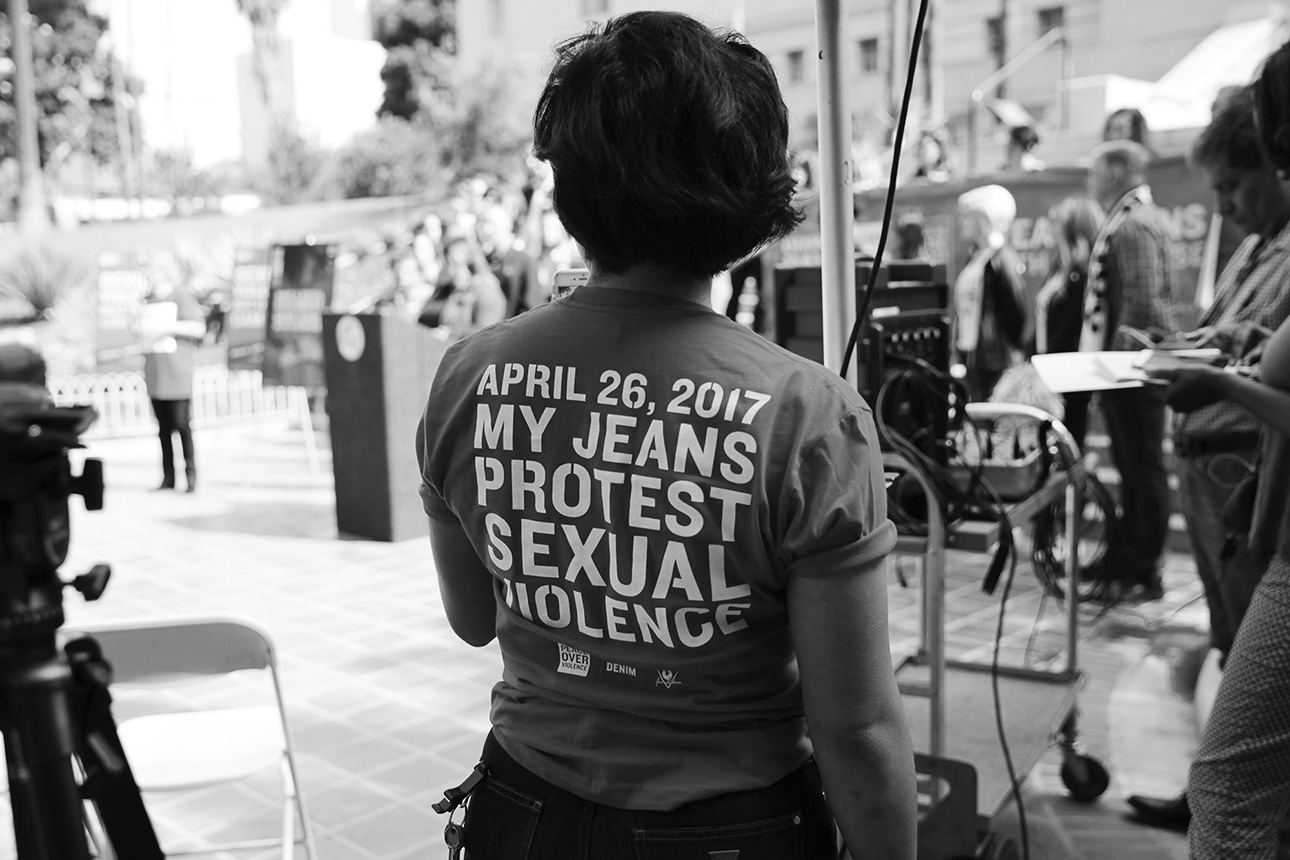 My Jeans Protest Sexual Violence, #DENIMDAY