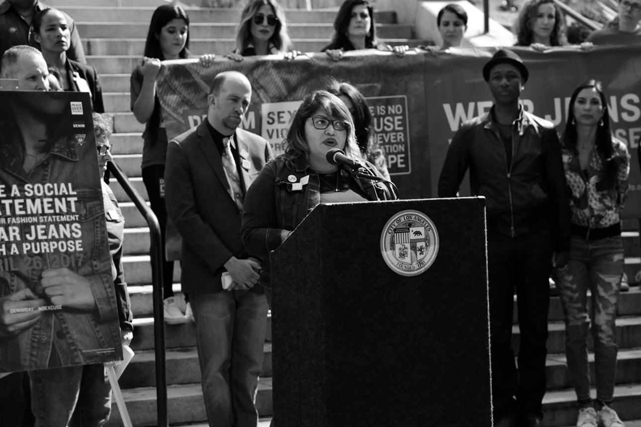 Claudia Batres-Flores, Survivor - Voices Over Violence