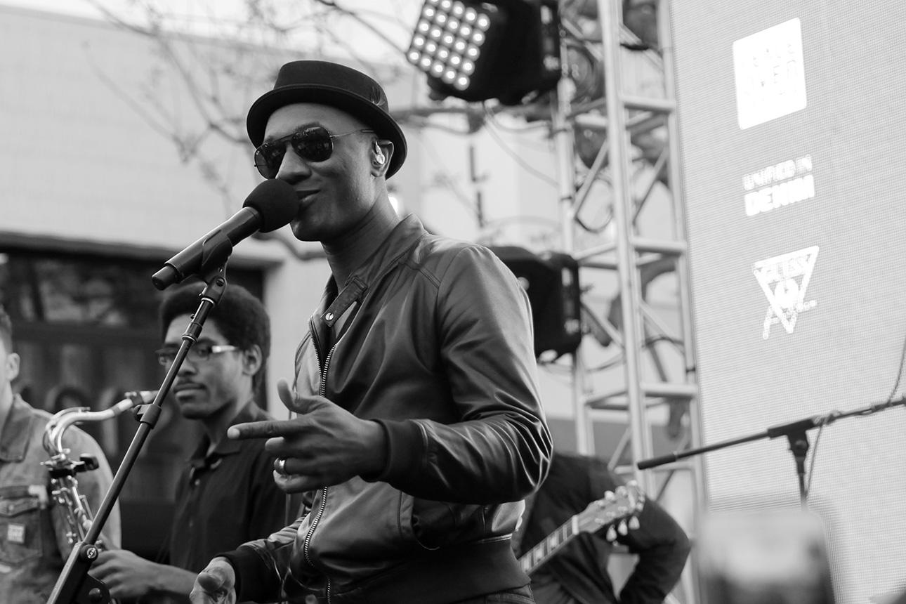 Denim Day Spokesperson and Singer/Songwriter Aloe Blacc