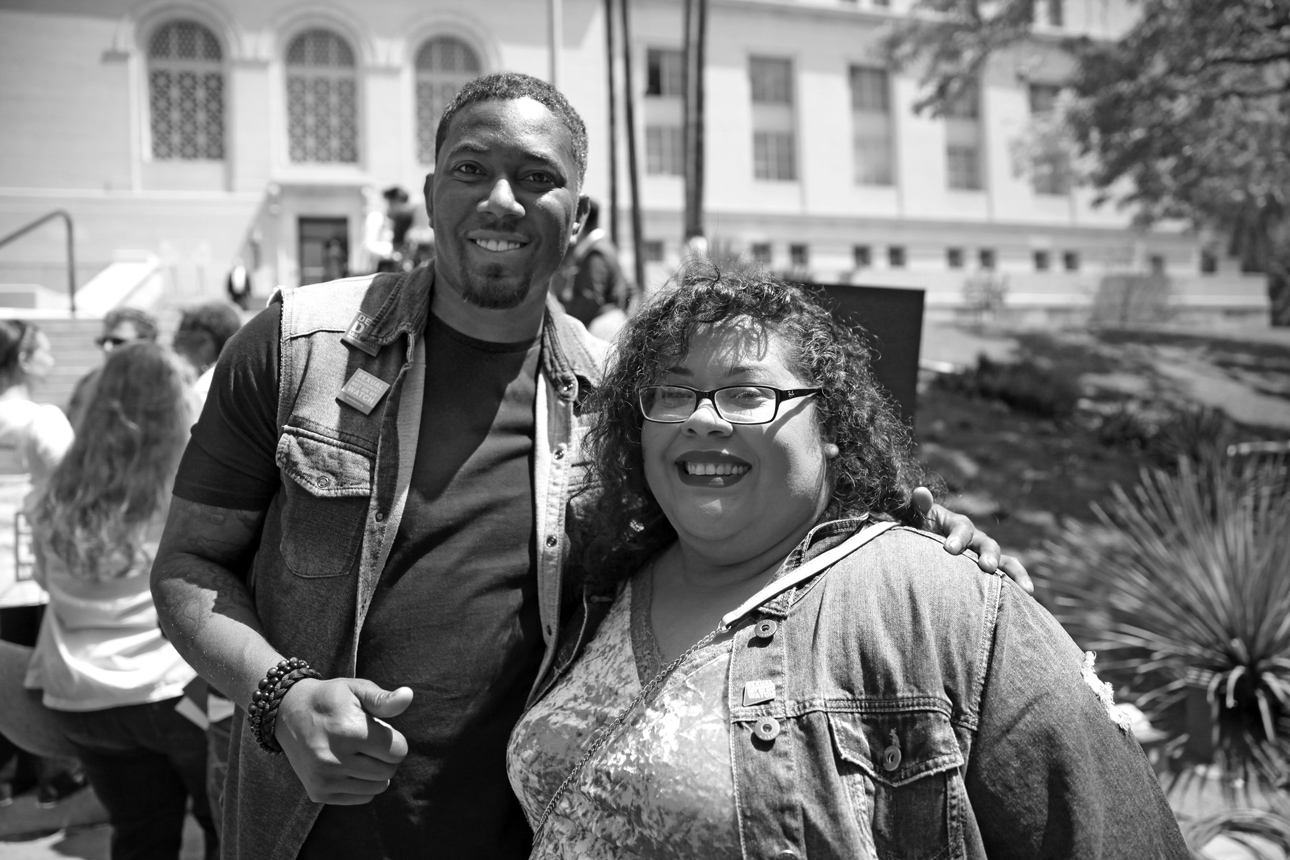 Rashad Beal's spoken word performance addressing men joking about rape reminded men not to remain silent. Yesika Salgado performed a moving and intimate poem about intergenerational and collective experiences of sexual violence.