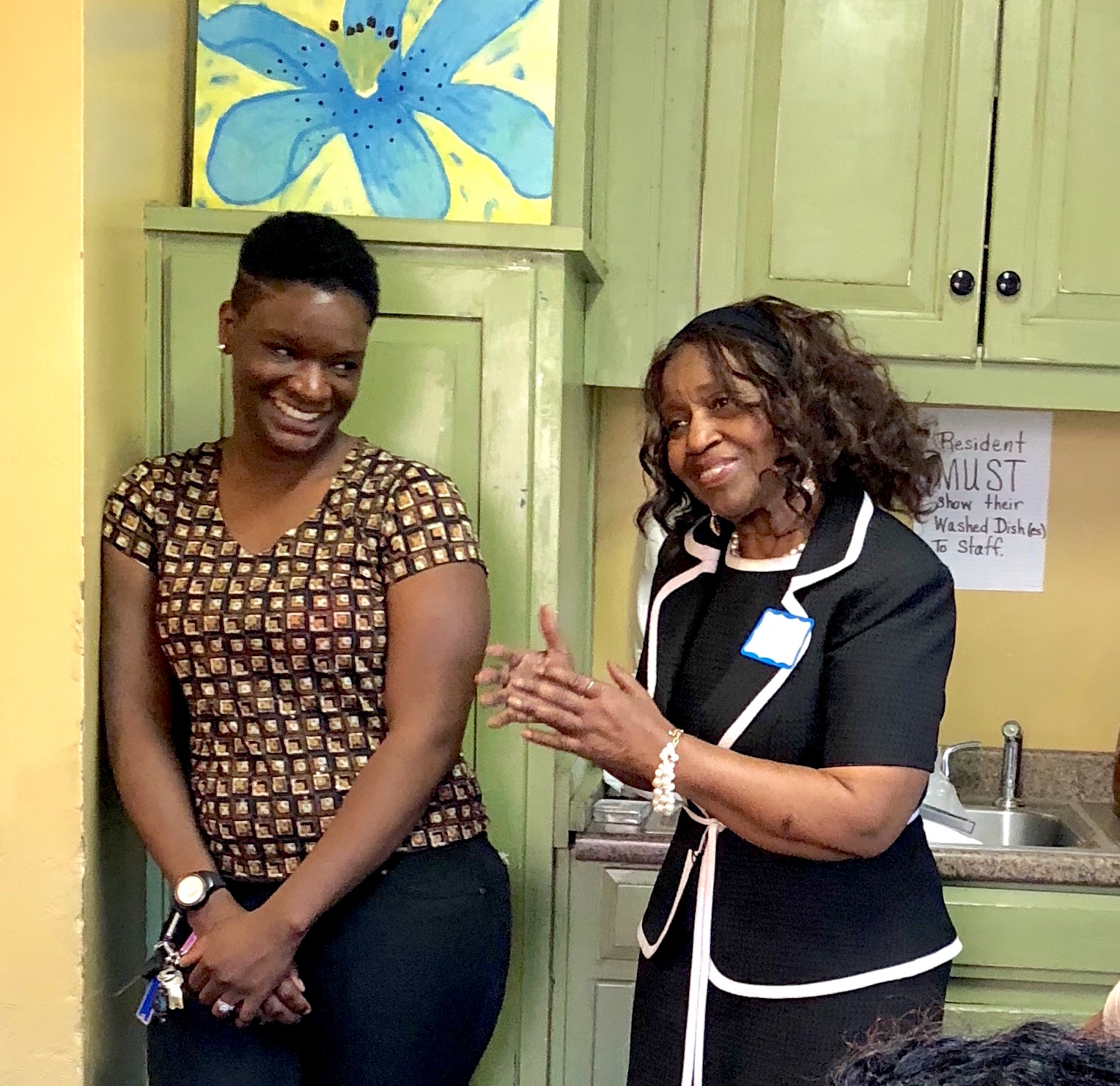 Rosette's story - Now a poised young woman with a family of her own, Rosette recently visited The Bridge to share her story. She had been placed in 32 foster homes and 12 lock-down facilities. At The Bridge, she found a family.