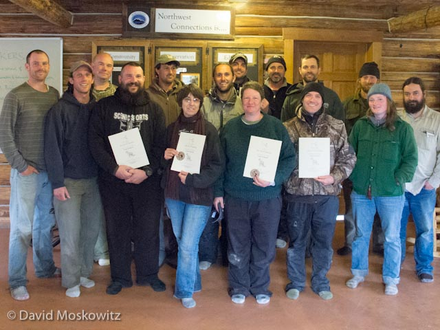 Congratulations to everyone who participated and earned a certificate at the event!