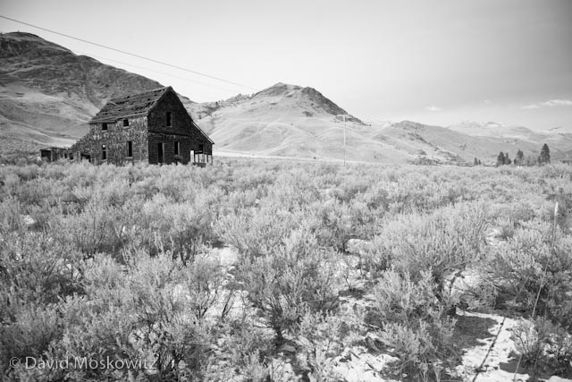 Abandoned building close to the former town of Nighthawk on the Similkameen River.