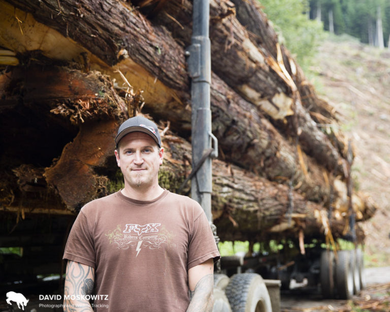 "Harley Poitras currently works as a log truck driver and informed us that ""You can't call yourself a log truck driver until you've rolled a truck at least once."""