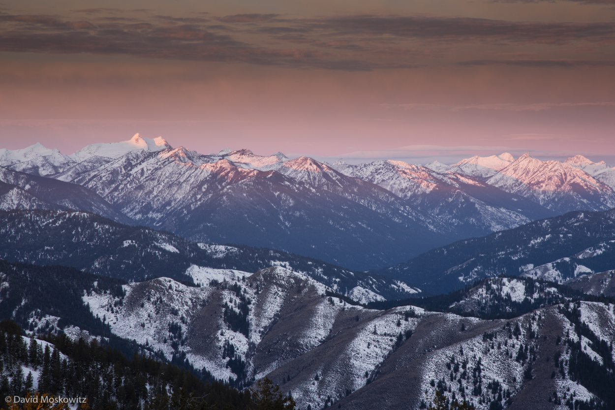 Reynolds Peak, another one of the high summits in the Sawtooth Wilderness, and often a climbing objective for students on mountaineering courses through the  Northwest Outward Bound School which has a basecamp in the Methow Valley.