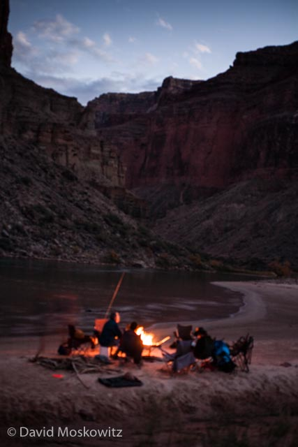 A campfire, cold beers, and dinner prepared by our expedition mates waited for us back at camp along the river. All and all an amazing day!