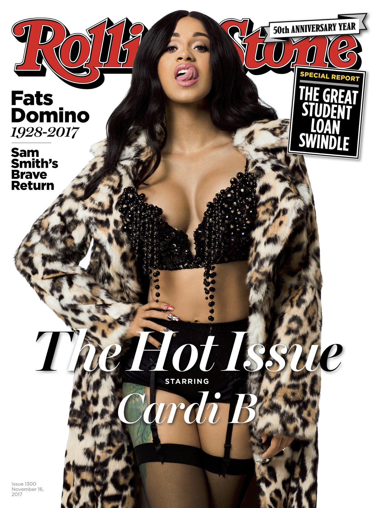 Rolling Stone  cover feat. Cardi B