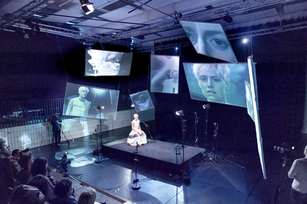 THE FACE WITHIN, Keimeyer, Performance, Video art