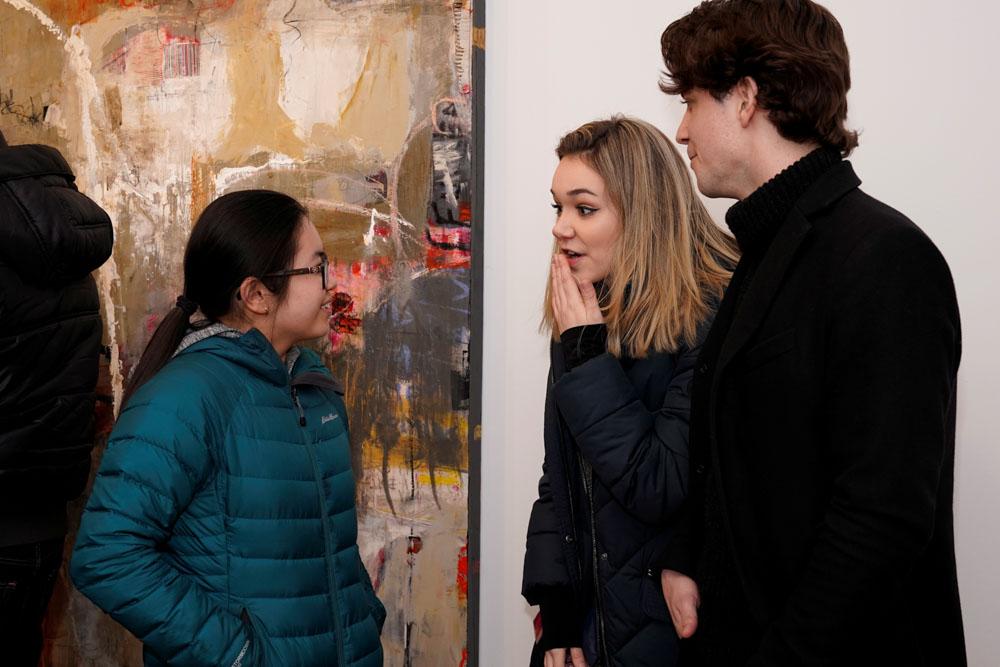 Copy of Johanna Keimeyer at New York Arts, Armory Week 2019