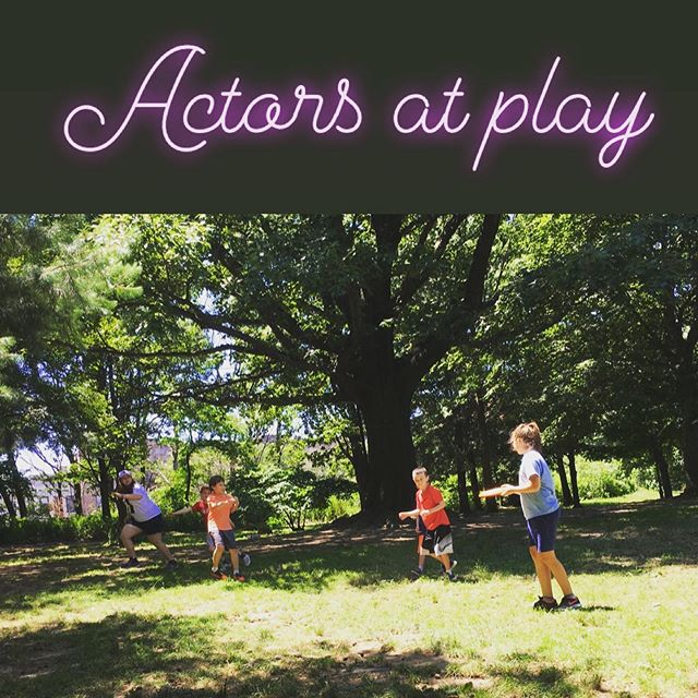 First day of Bound for Broadway Camp was a blast! 😎  #theatrekid #theatrecamp #actorslife #actorsinmotion