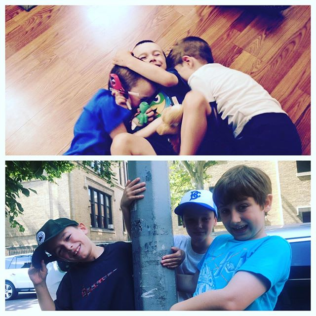 Time flies when you're having fun with your buddies! The top pic is from 2015, the bottom 2019. These buddies are celebrating their fifth summer @ PSPA theatre camp! #theatrekid #theatrecamp #theatrebuddies #bromance #friendshipgoals #summercamp2019 #summer2019