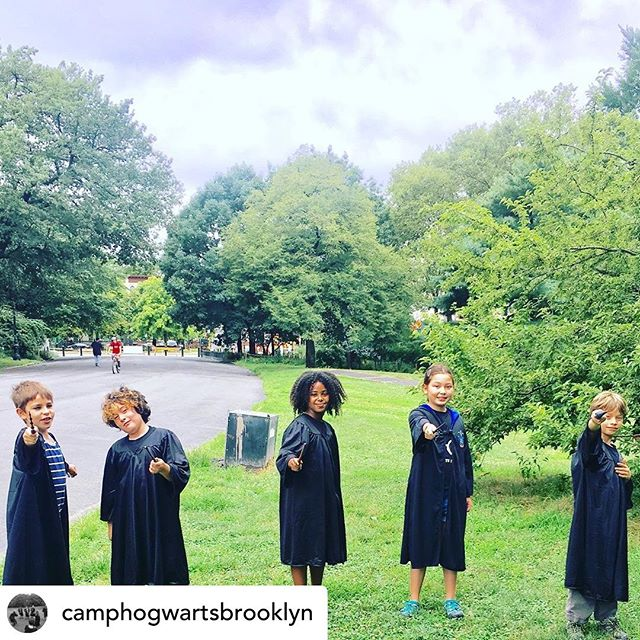 Posted @withrepost • @camphogwartsbrooklyn The rain held out and we had an amazing day learning, dueling, mixing potions and shooting Quaffles! Can't wait for tomorrow's lessons with these amazing wizards and witches-in-training!  #brooklynkids #harrypotter #potterheads #wizardsintraining #witchesintraining #quidditch #summercamp #summercamp2019 #summerinbrooklyn #prospectpark #prospectparkwest #windsorterrace #parkslope #windsorterracekids #parkslopekids #hogwarts #hogwartscamp #camphogwarts #brooklynkid