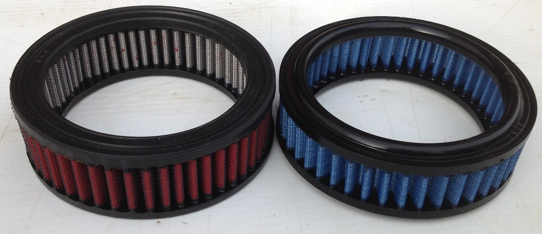 Air Filters Red = Better quality K&N Style Blue = JR Brand no longer available