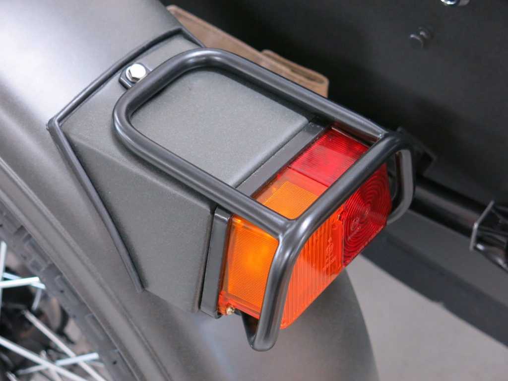 Sidecar Light Protectors Fit to Front and Rear