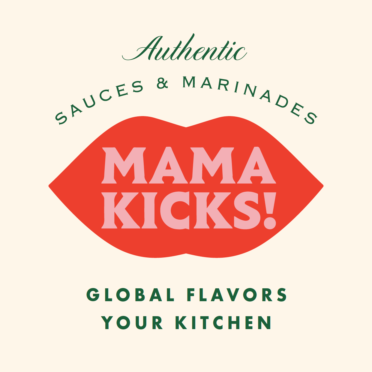 Mama Kicks - The meals you eat around the family dining table shaped you and what you like. Homemade meals are a staple in everyone's upbringing, which is why we're on a mission to share family meals from across the world with your family. Nothing tastes as good as when Mom makes it, and now that TLC comes in a bottle. Mama Kicks makes globalizing your kitchen, quite simple. You no longer have to be limited to your go-to dishes or heating up leftovers in the microwave. Expanding your culinary repertoire with global flavor is simple and conveniently available in your pantry.