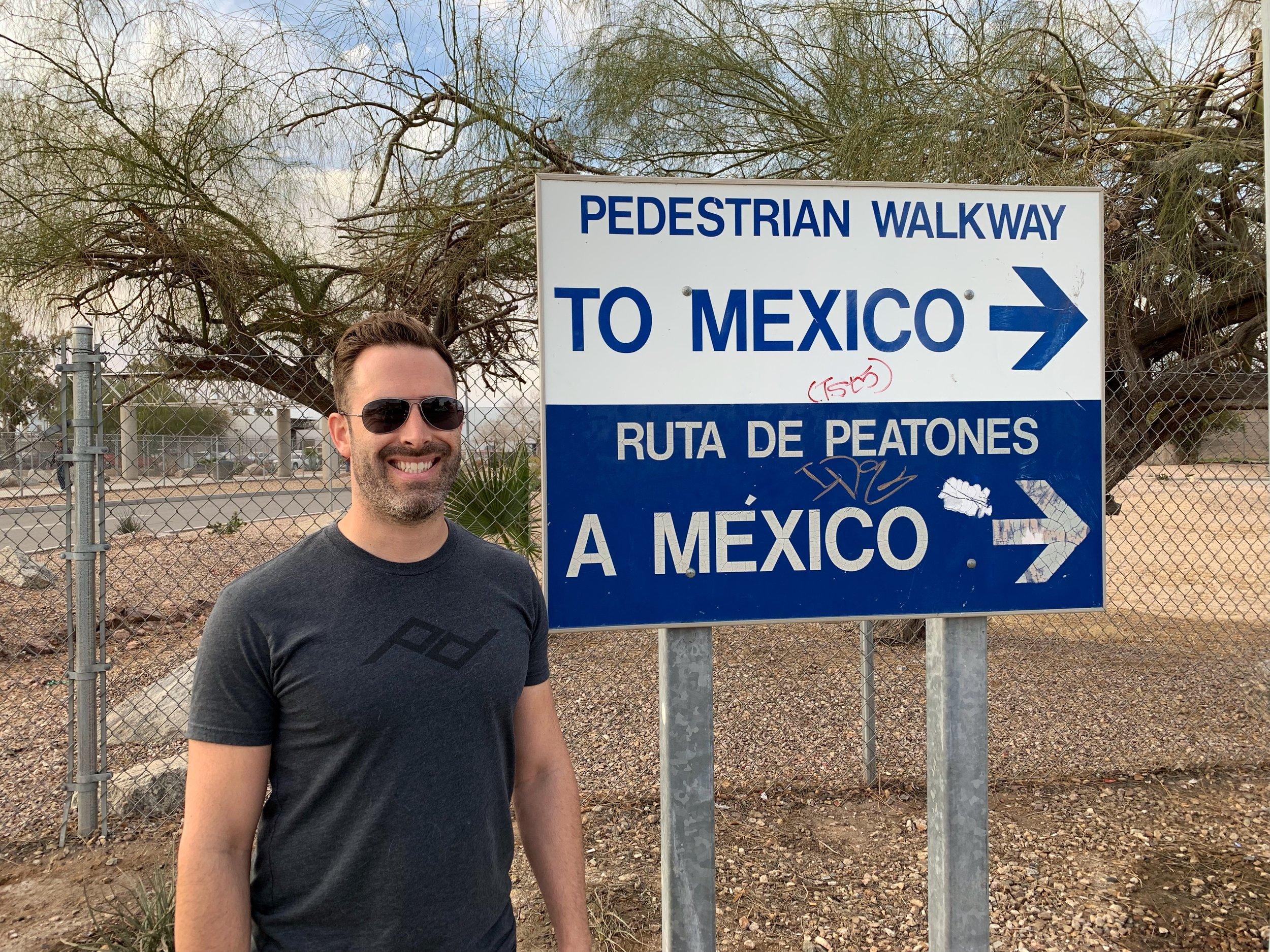 Ben's first trip to Mexico