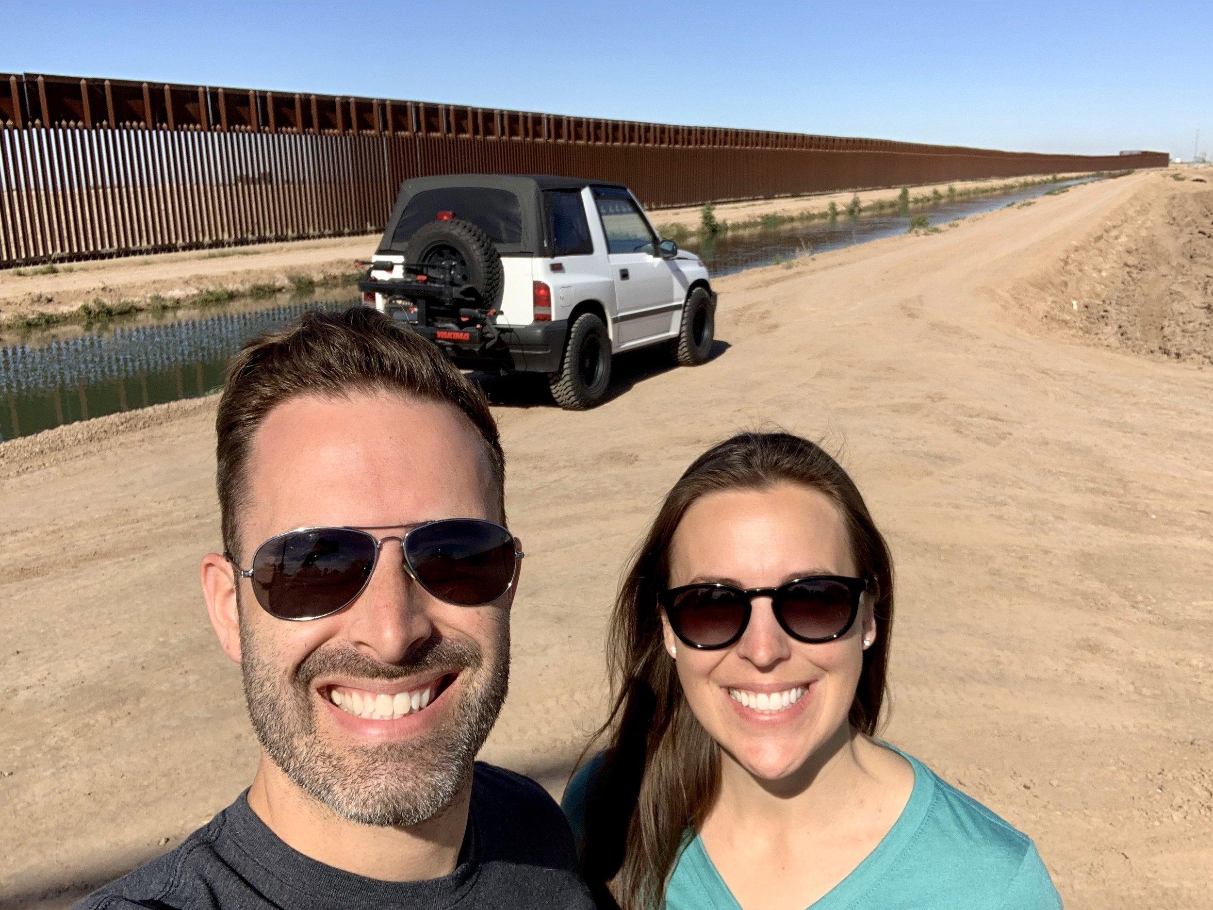 Cruising the border