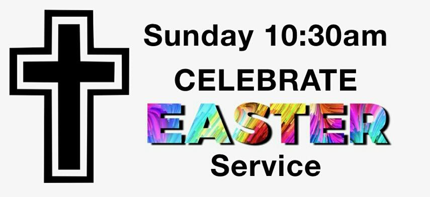 Sunday April 21st at 10:30 AM  We welcome you to join us for Easter Sunday service as we give reverence to the one who is the reason for the season!