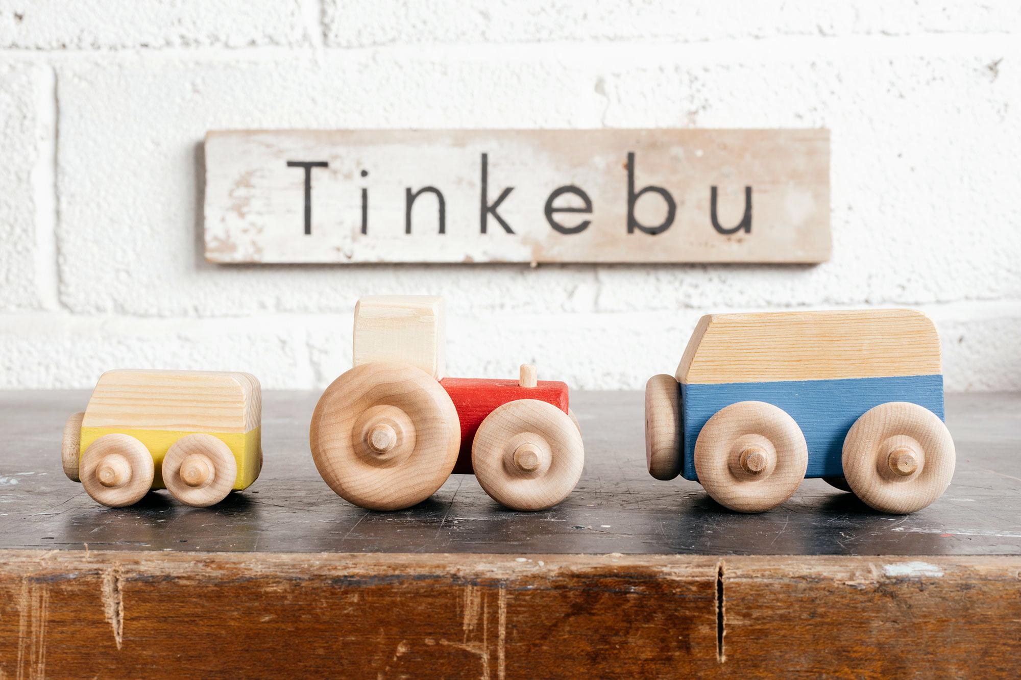 Sustainable wooden toys - Tinkebu