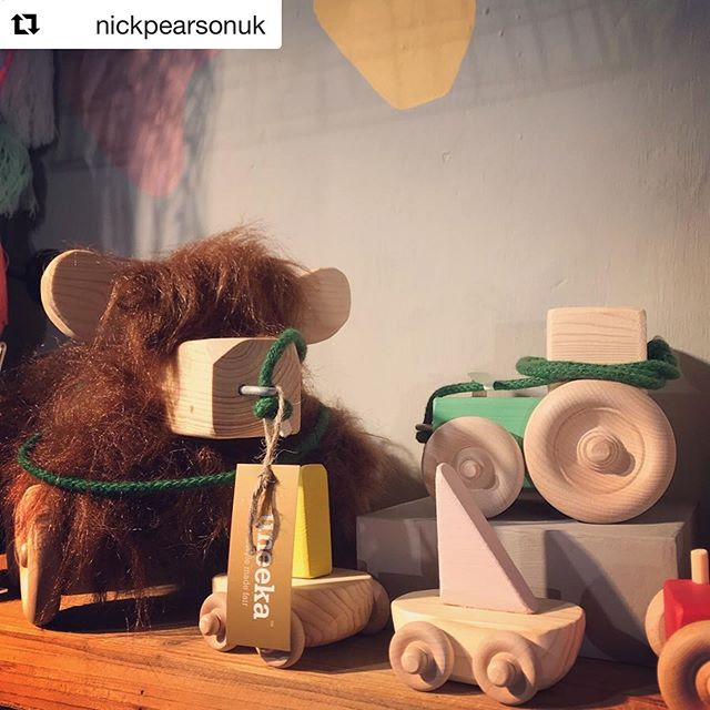 #Repost @nickpearsonuk ・・・ Spotted in the wild! 🚜🐑⛵️ Awesome handmade & sustainable wooden toys by @tinkebucornwall in @theuneekalife 🙌   Great to see products by talented, entrepreneurial creatives on the shelves 😀   #woodentoys #sustainableliving #sustainabletoys #madeincornwall #sustainabledesign #cornwall #tinkebu #madelocal #uneekalife #uneeka