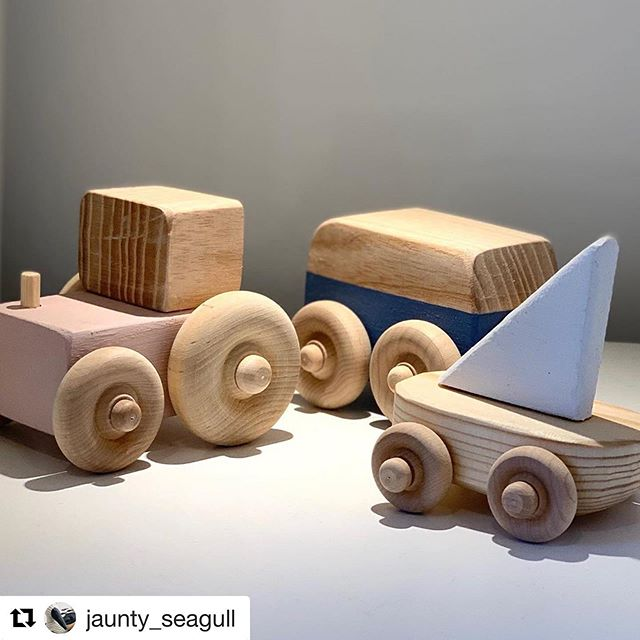 #Repost @jaunty_seagull. Roll up roll up people of north cornwall to our newest stockist! ・・・ Tinkebu rolled into Jaunty HQ today, the latest of our new designers, Tinkebu, Cornwall, feature in the 'Make; Cornwall' book. Beautiful children's handcrafted wooden toys, boats, campers and tractors. Perfect firsts for little hands #cornish #handmade #madeincornwall #buylocal #childrenstoy #woodentoys