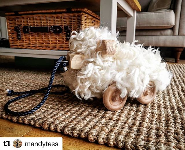 #Repost @mandytess . Love reviews like this ☺️ ・・・ A georgous toy for the most georgous little boy! Thank you @tinkebucornwall for creating such a love christening gift. I wanted to keep him! . . . . . #handmade #christeninggift #cornwall  #onetreeplanted