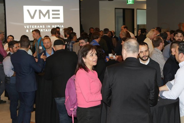VME Networking Mixer with hiring managers and talent scouts