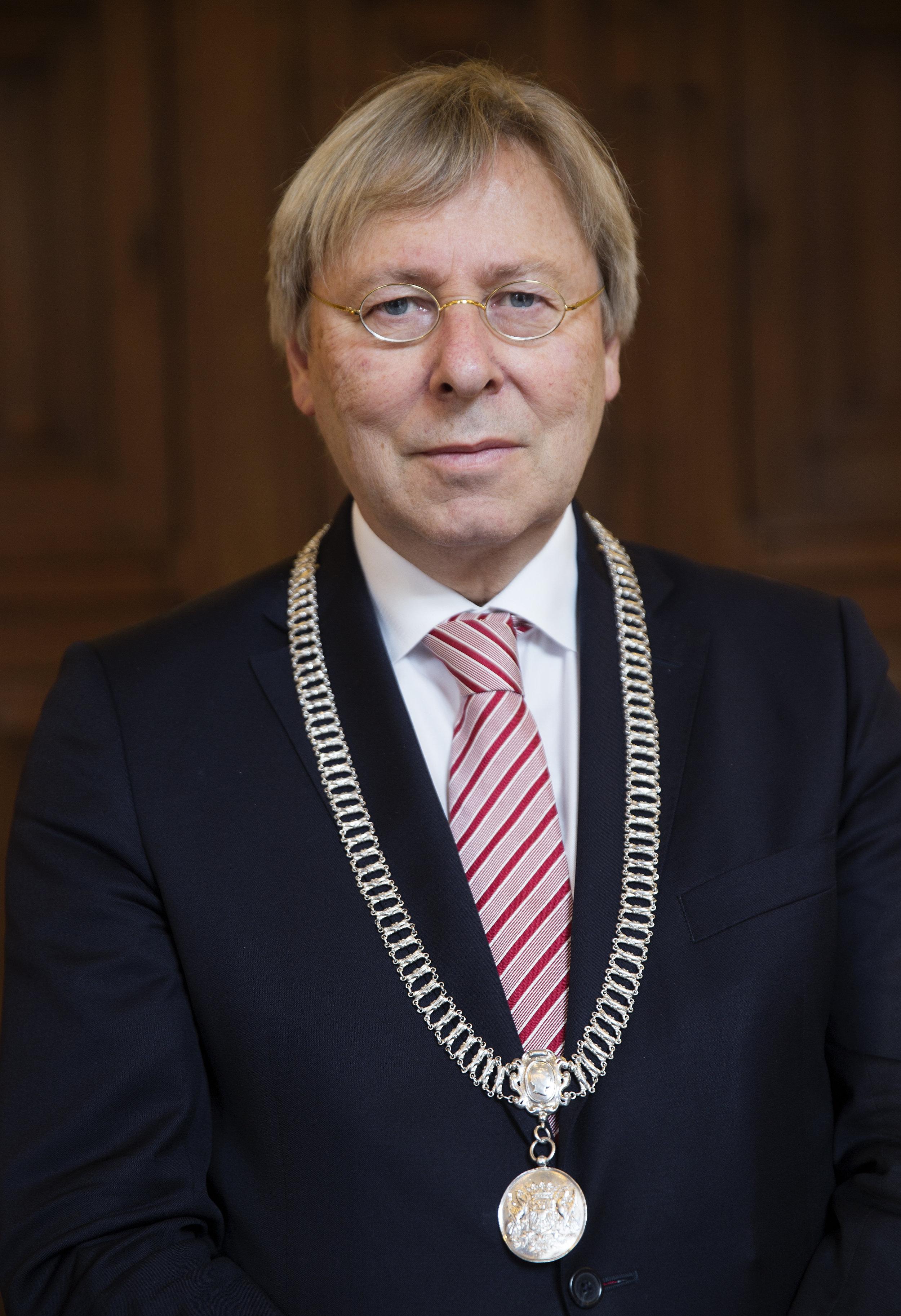 Peter den Oudsten - Mayor of the city of Groningen