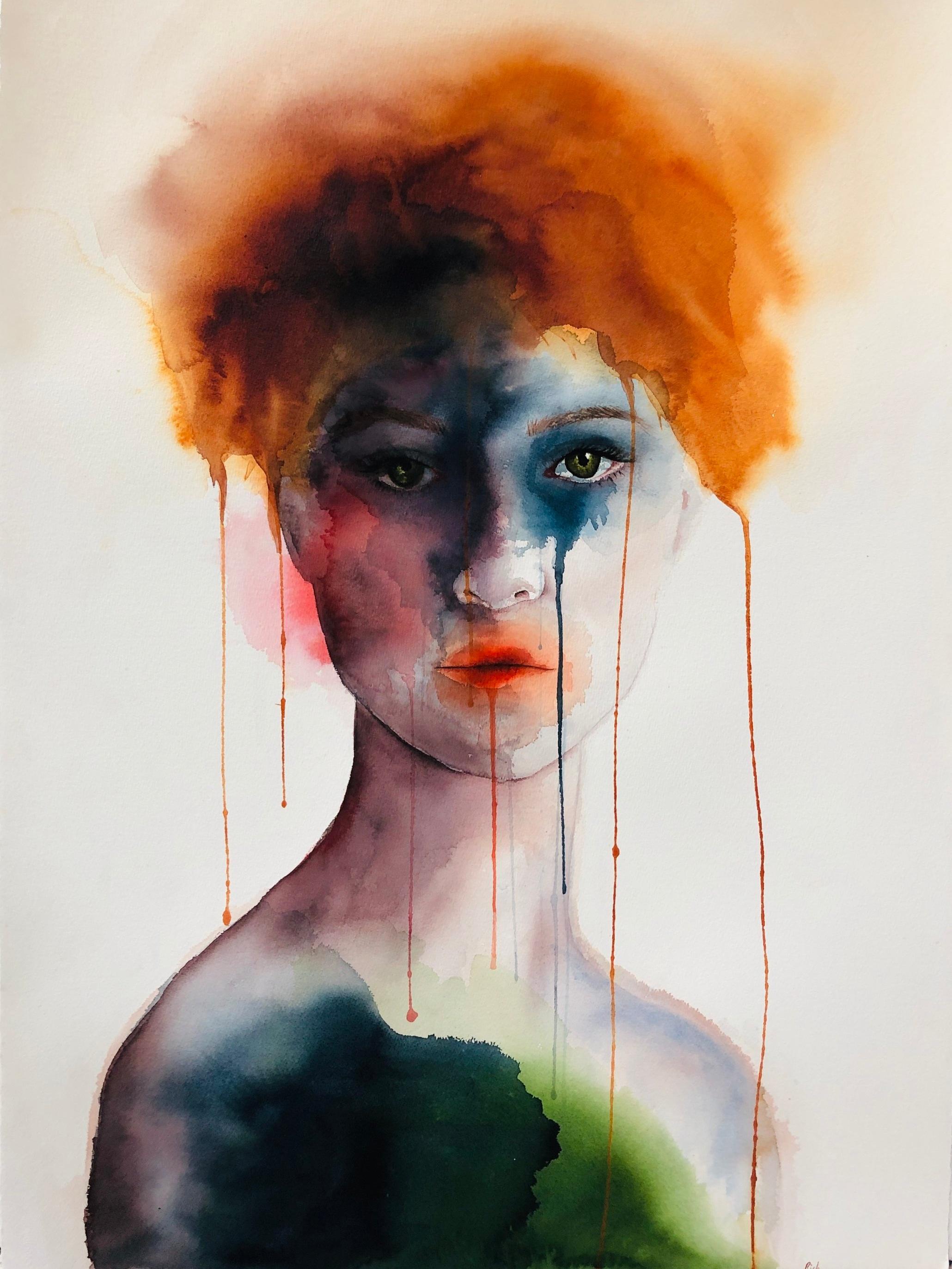 Veruca  Alisha Rich  Watercolour  640 gsm paper 648 x 1016 mm
