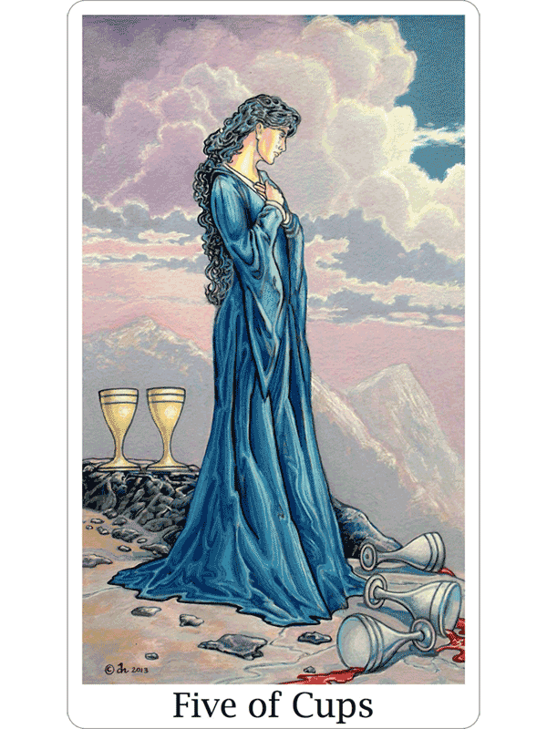 How to Get Over It And Move Forward - With the Five of Cups