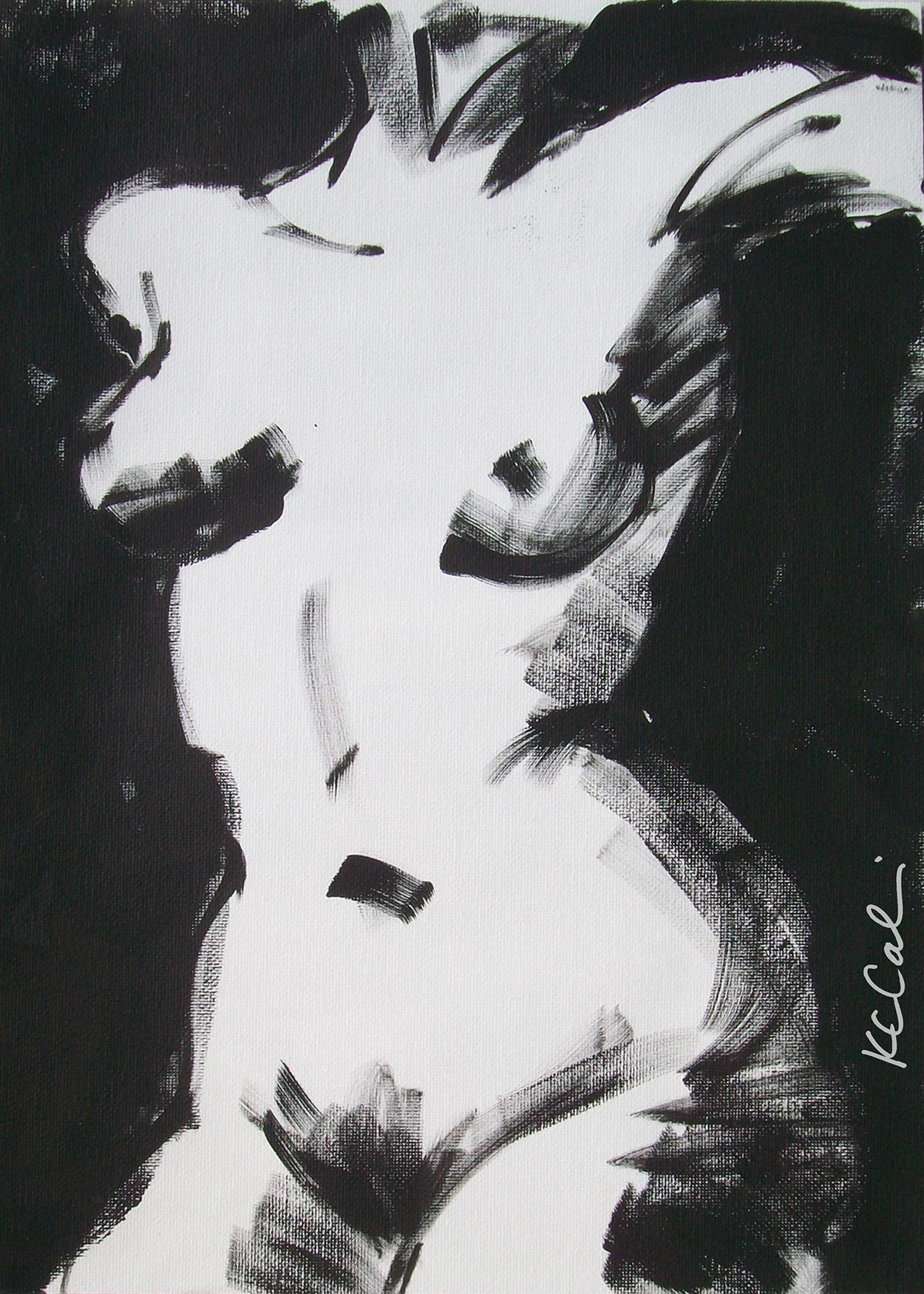 Torso 3  -  acrylic on canvas   [sold]