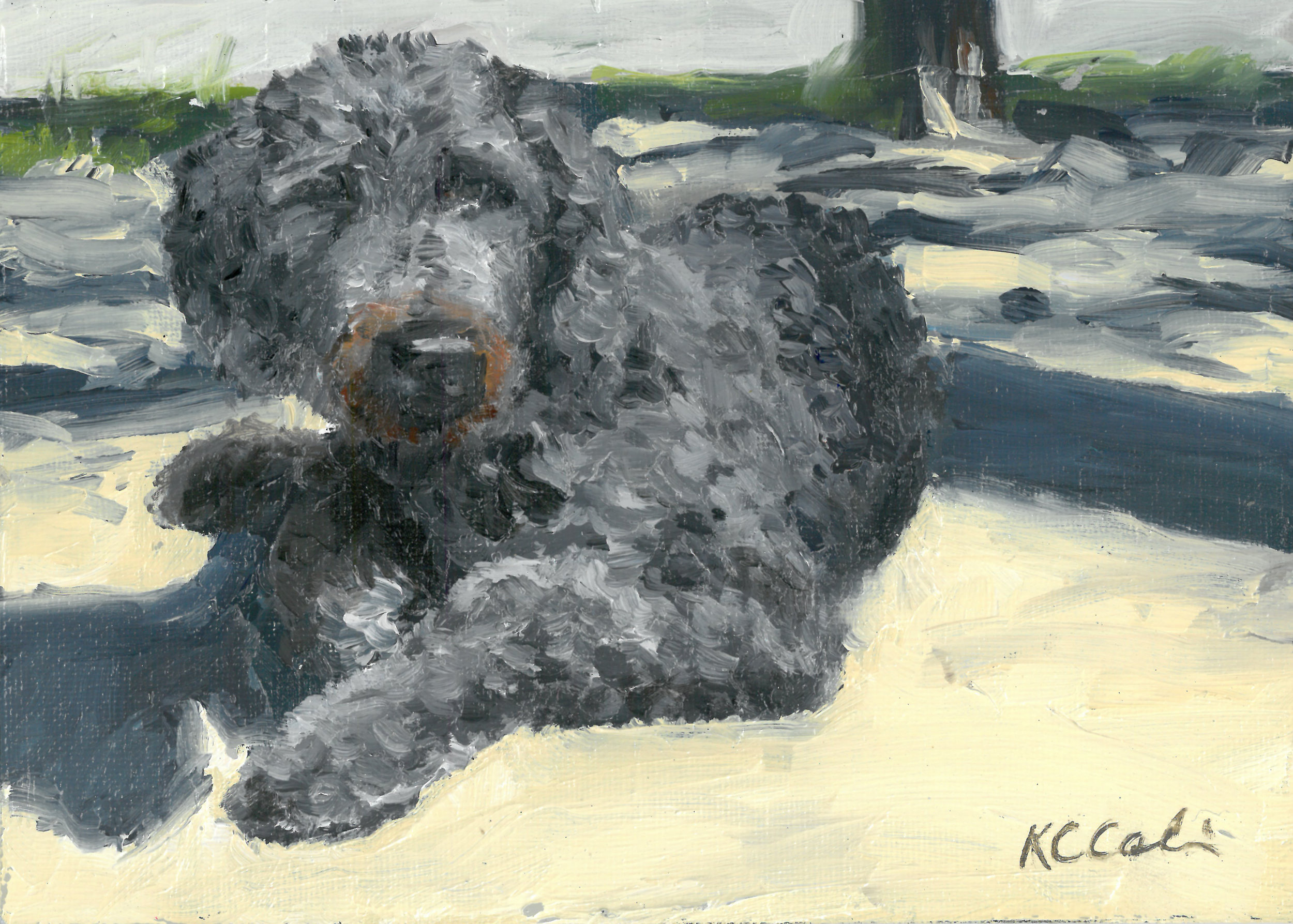"Buoy  | 7"" x 5"" 