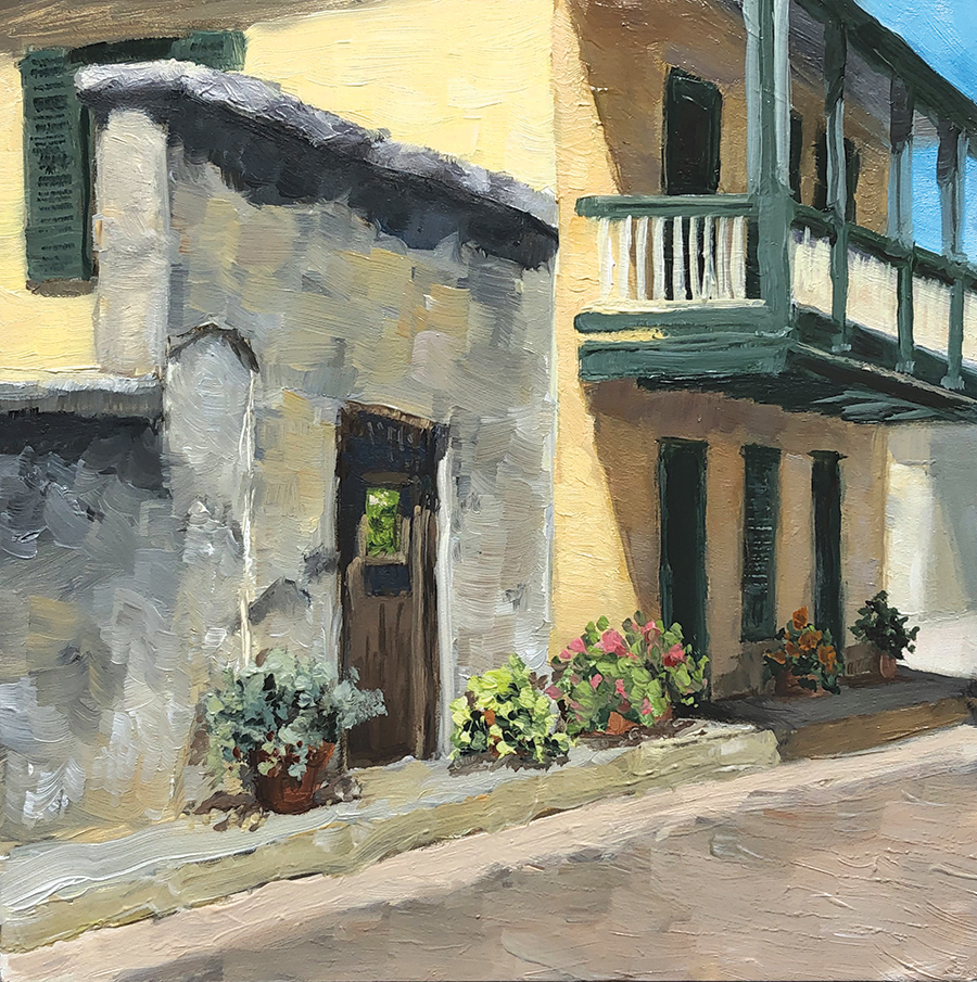 "Father Miguel O'Reilly House  | 6"" x 6"" 