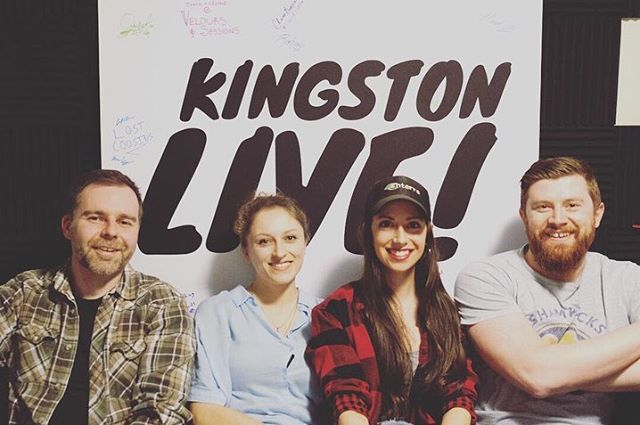 We had a blast with the guys from @kingstonlivemusic the other night! In this episode of their podcast, we chatted about our other company, @velourssessions : music + video, equality in the industry, and of course, #ygk 's bumpin' music scene. Stay tuned for the full episode! #music #video #videographers #shoot #studio #podcast #entrepreneur #like #follow