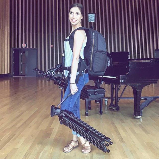Throwback to that time I was a pack mule. Actually, nevermind- that's me on every single shoot. 😂🎥📸 #Video #videographer #cameragirl #shoot #canon #sony #fujifilm #filmmaker #entrepreneur #capture #selfie #love #like #follow #instagood #instapic #ygk #piano #promo #girl