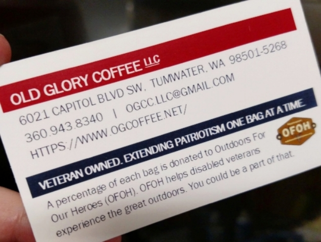 All of OG Coffee's contact info -- including our partnership with  OFOH !