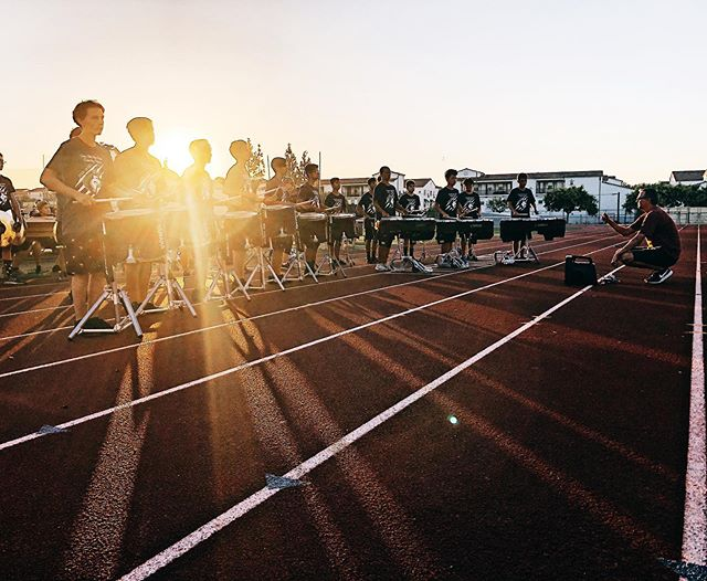 Parent Preview Performance, ✅ Looking forward to the season 😎 . . . #chinohillsdrumline #drumline #marchingband #marchingdrums #wgipercussion #boxsix