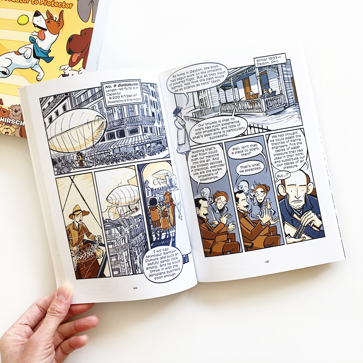 Science Comics: Dogs and Flying Machines | Avery and Augustine