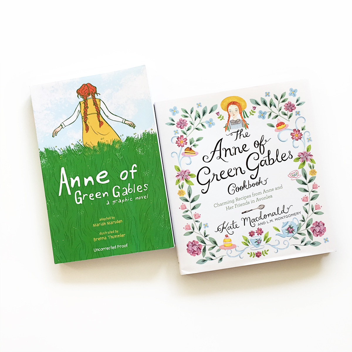 Anne of Green Gables: A Graphic Novel and The Anne of Green Gables Cookbook | Avery and Augustine