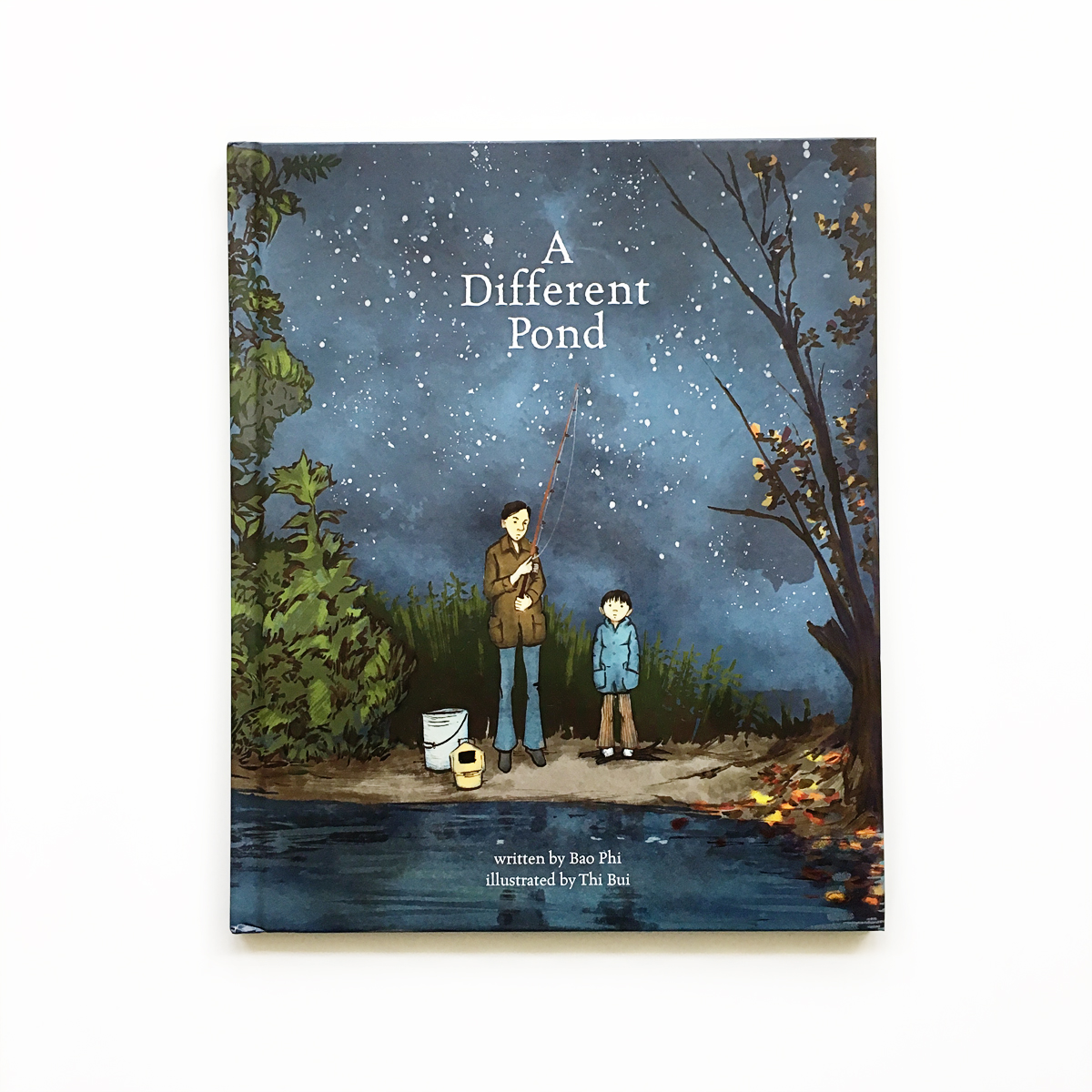 A Different Pond   Little Lit Book Series: Night   Avery and Augustine