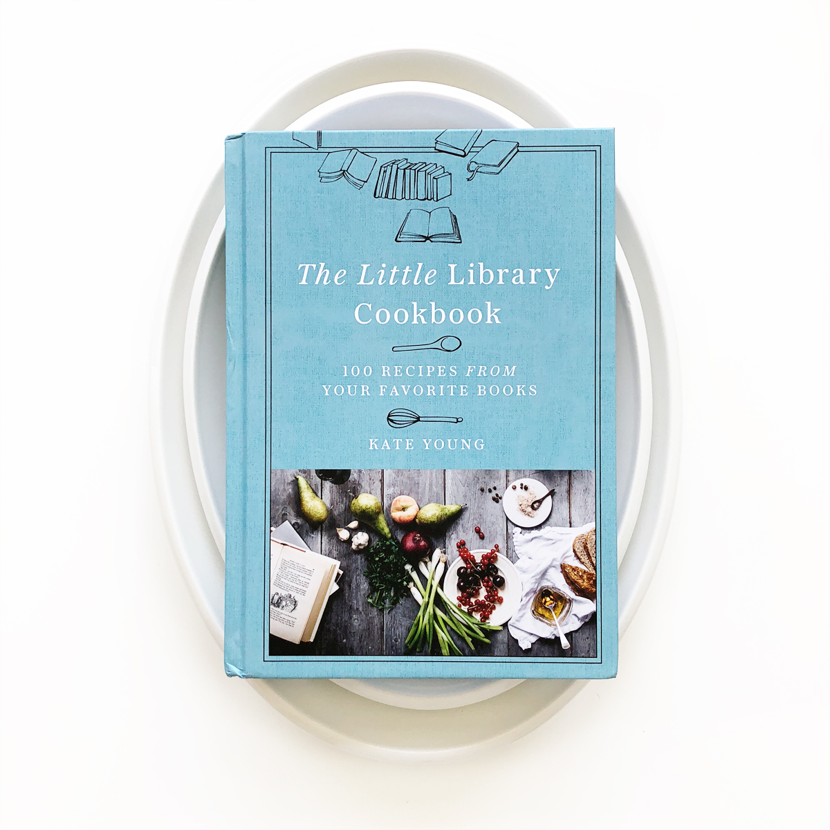 The Little Library Cookbook | Avery and Augustine