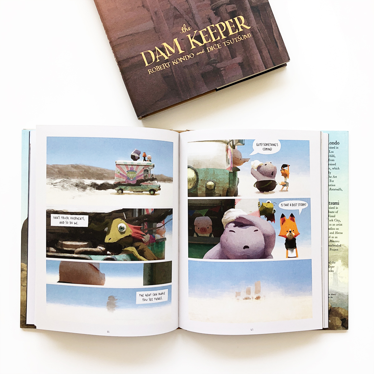 The Dam Keeper and The Dam Keeper: Word Without Darkness   Avery and Augustine