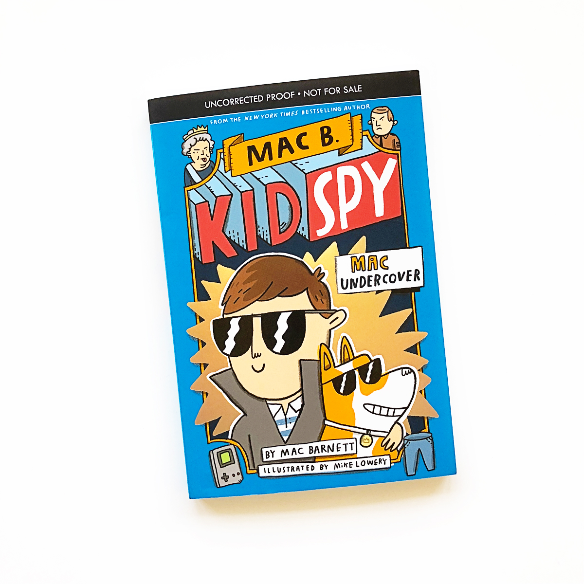 Mac B., Kid Spy #1: Mac Undercover | Avery and Augustine