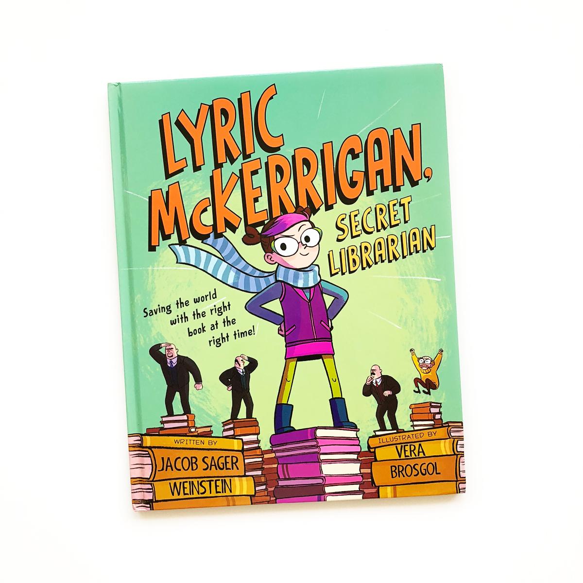 Lyric McKerrigan, Secret Librarian | Avery and Augustine