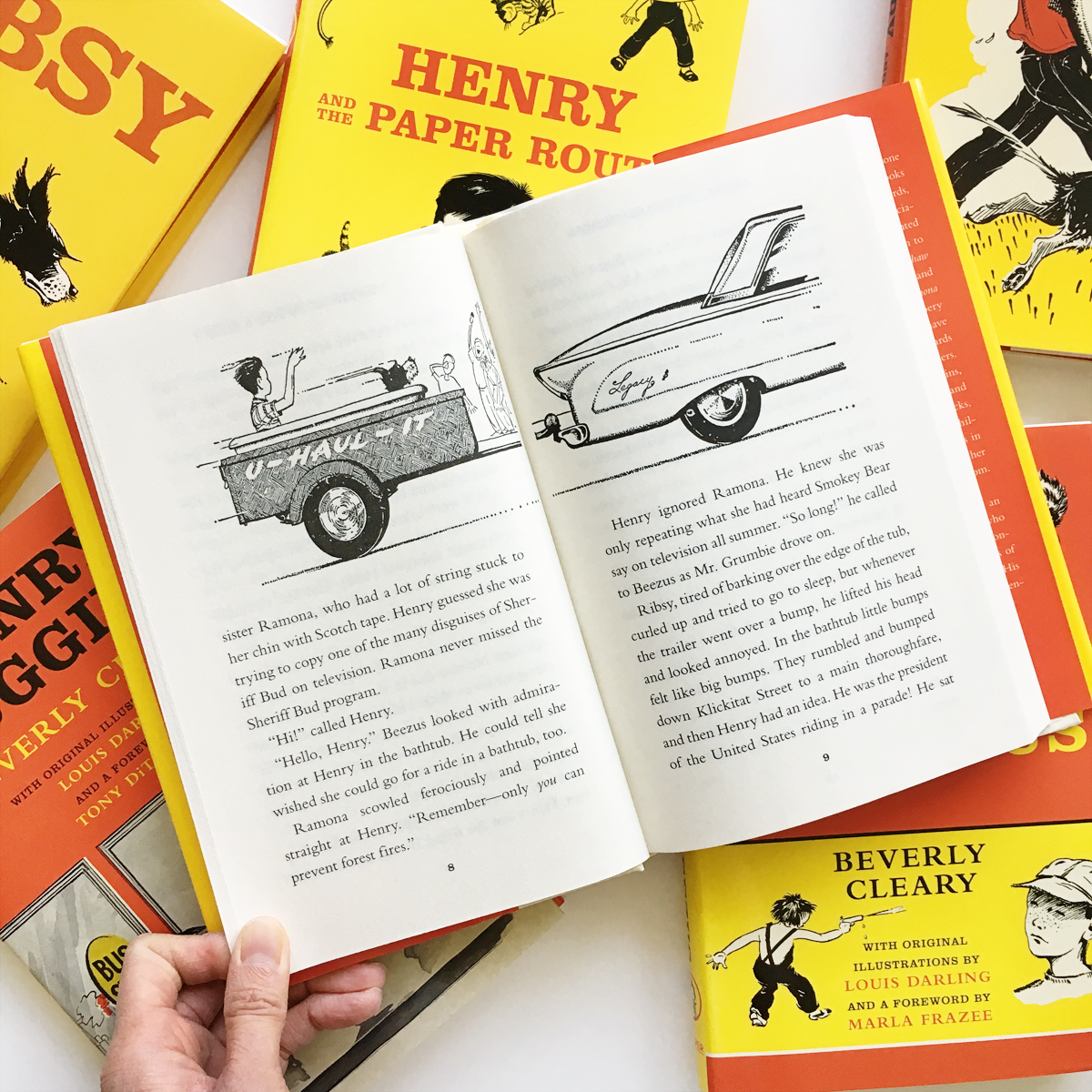 Reissued Editions of Henry Huggins | Avery and Augustine