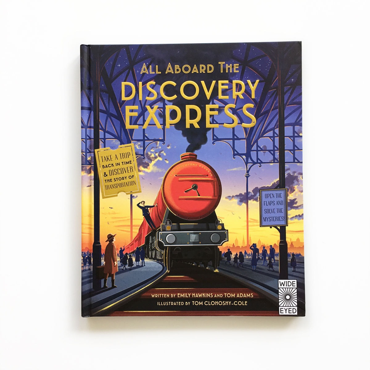 All Aboard the Discovery Express | Avery and Augustine