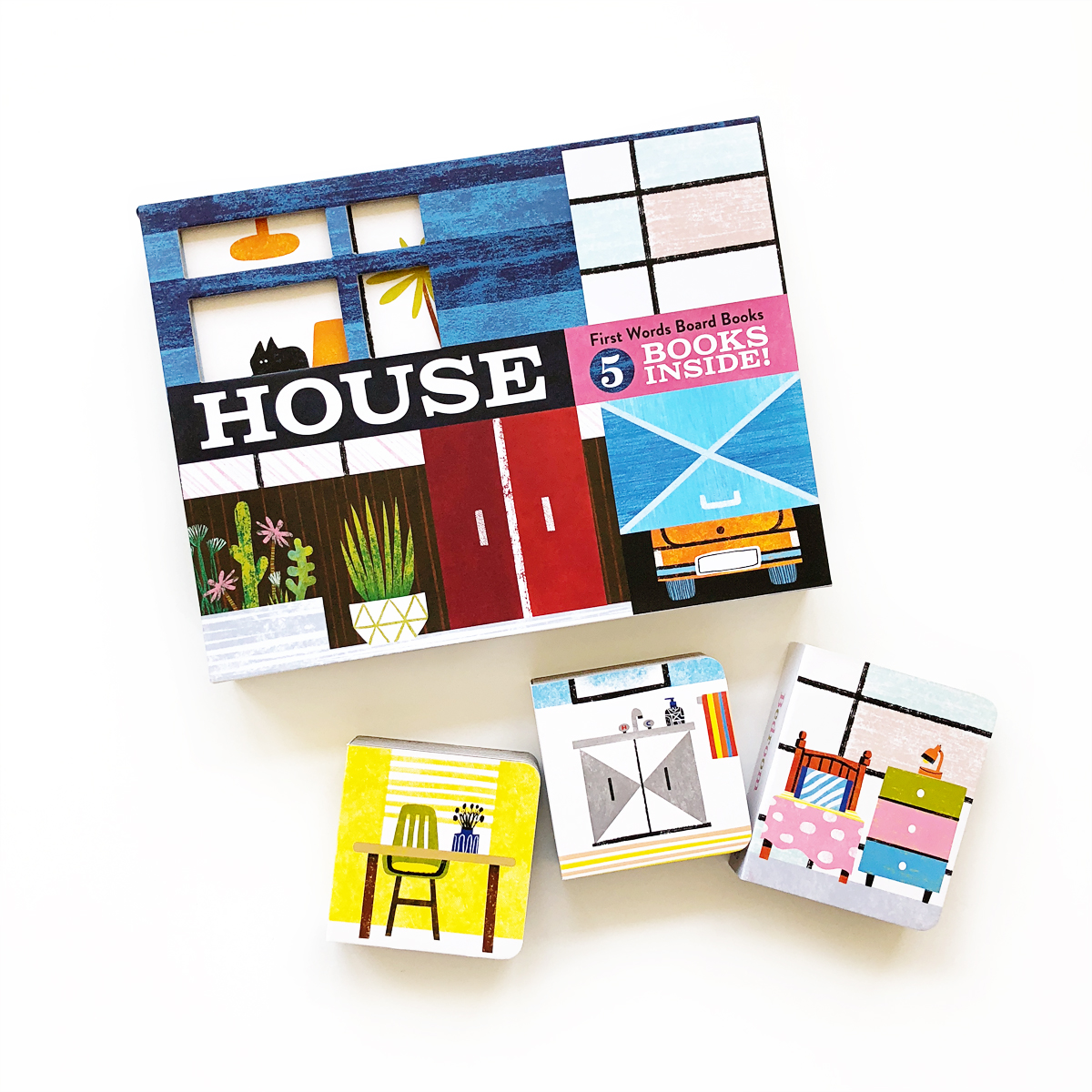 House: First Words Board Books | Avery and Augustine