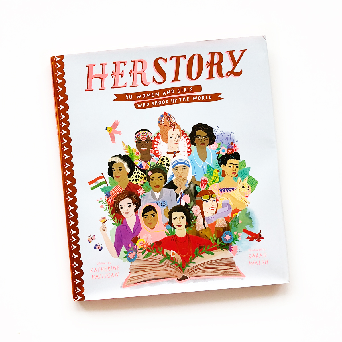 Herstory: 50 Women and Girls Who Shook Up the World | Avery and Augustine