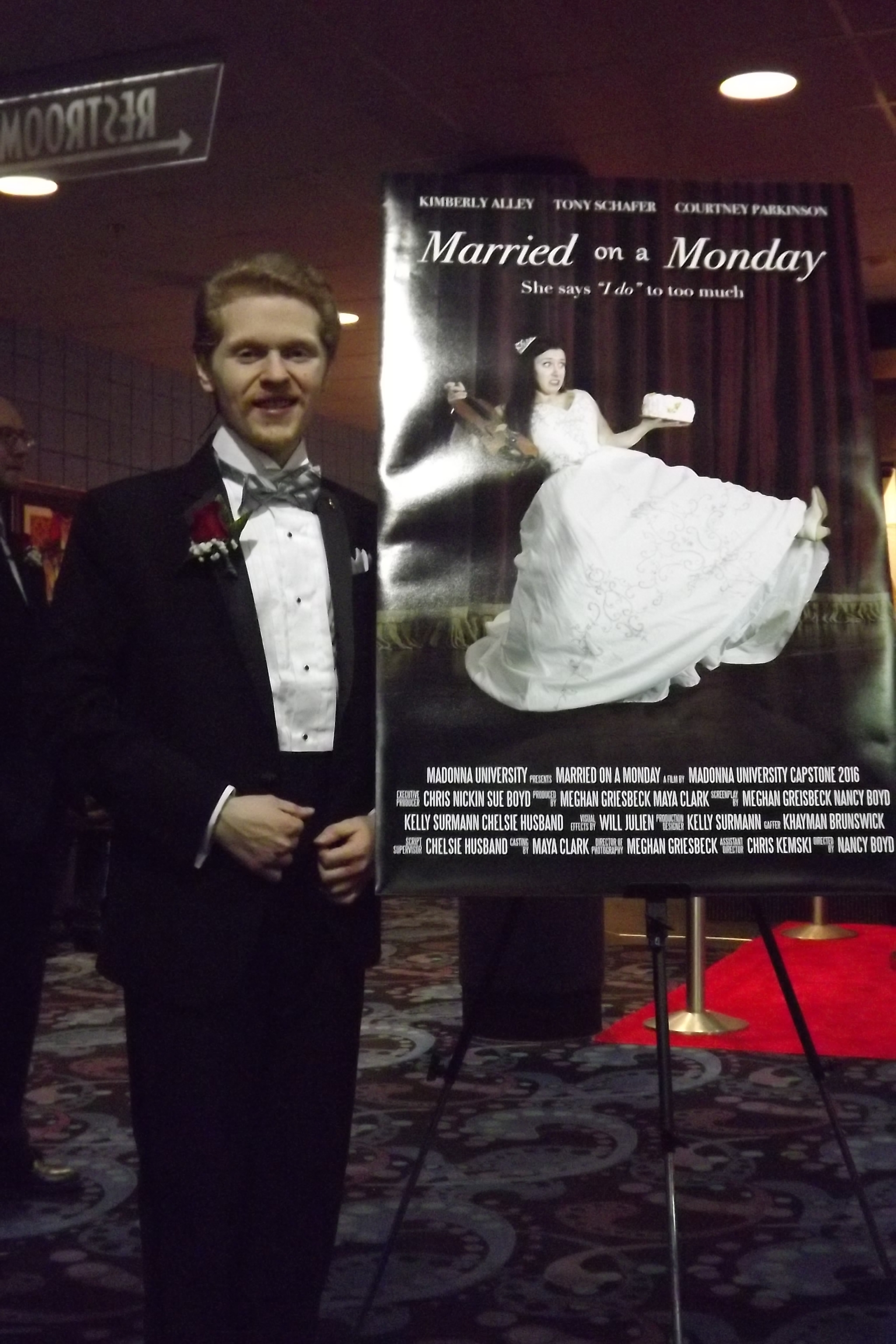 Jacob at Married on a Monday Premiere.JPG