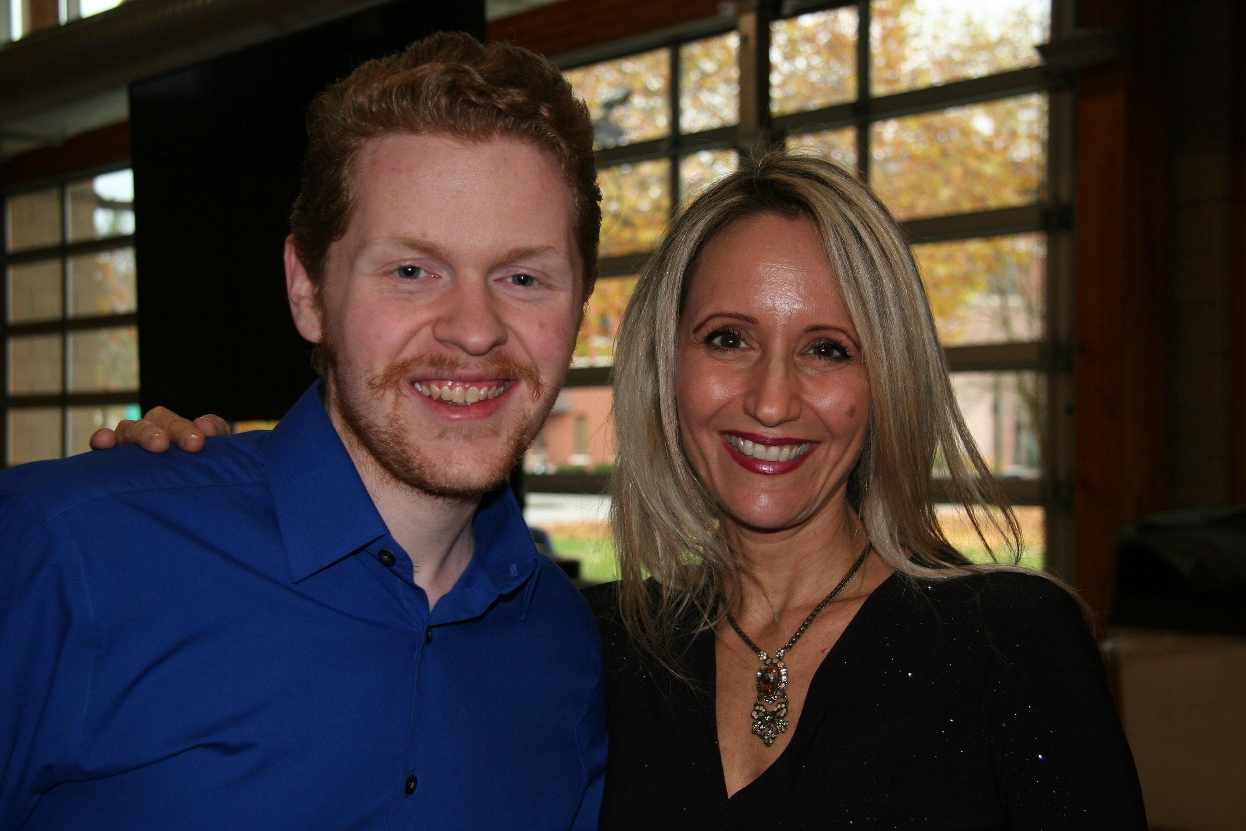 Jacob with Sharon Farber.JPG